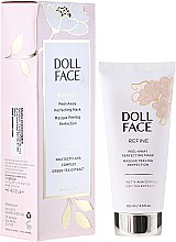 Mască-gel pentru față - Doll Face Refine Peel-Away Refining Gel Mask — Imagine N1
