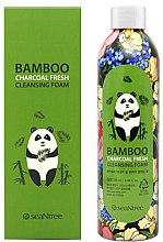 Parfumuri și produse cosmetice Spumă de curățare cu cărbune de bambus - Seantree Bamboo Charcoal Fresh Cleansing Foam