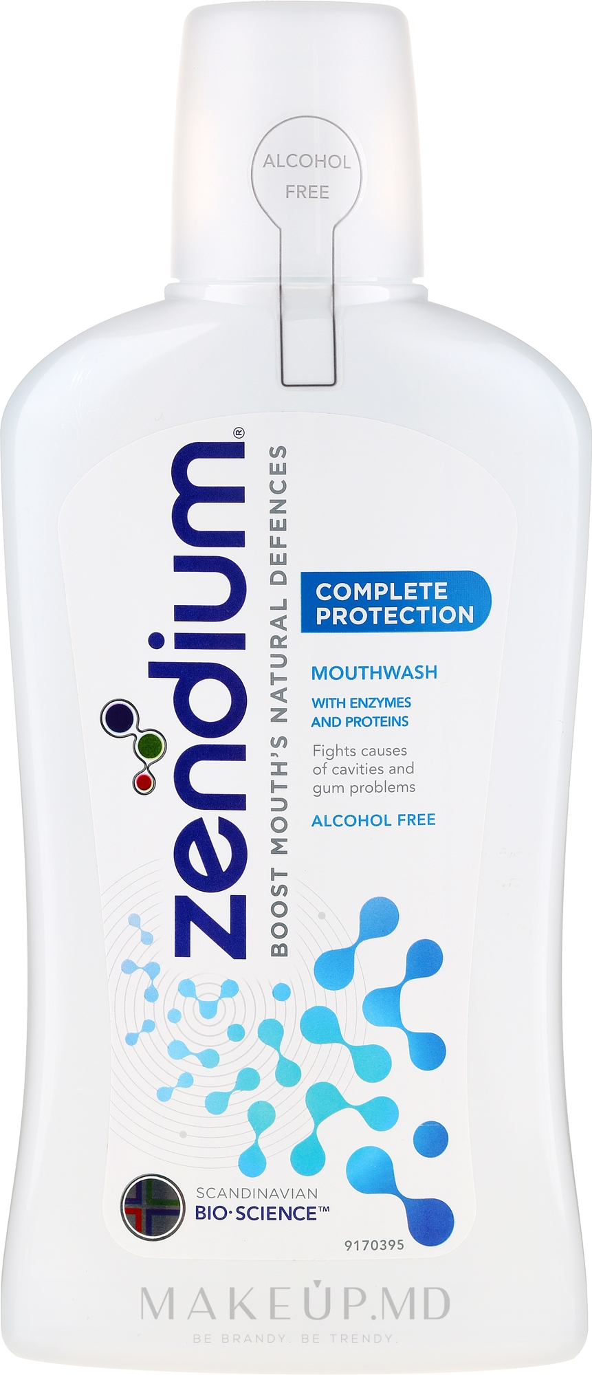 Agent de clătire pentru cavitatea bucală, fără alcool - Zendium Complete Protection — Imagine 500 ml
