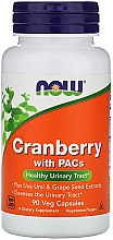 Духи, Парфюмерия, косметика Клюква с проантоцианидинами, 90 растительных капсул - Now Foods Cranberry With PACs