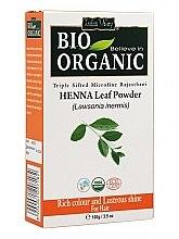Parfumuri și produse cosmetice Pulbere de frunze de henna pentru vopsirea părului - Indus Valley Bio Organic Henna Leaf Powder