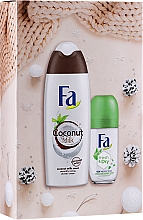 Parfumuri și produse cosmetice Set - Fa (sh/grl/250ml + deo/50ml)