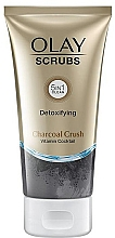 Parfumuri și produse cosmetice Scrub detoxifiant cu cărbune, pentru față - Olay Scrubs Detoxifying Charcoal Crush