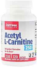 Parfumuri și produse cosmetice Acetil carnitina - Jarrow Formulas Acetyl L-Carnitine 250 mg