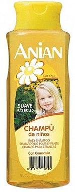 Șampon cu extract de mușețel pentru copii - Anian Chamomille Childrens Shampoo — Imagine N1
