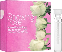 Parfumuri și produse cosmetice Masaki Matsushima Snowing Rose - Apă de parfum (tester)