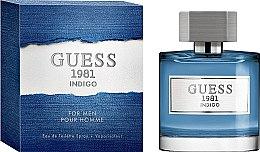 Parfumuri și produse cosmetice Guess 1981 Indigo For Men - Apa de toaletă