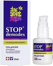 Parfumuri și produse cosmetice Gel pentru ochi - FBT Stop Demodex