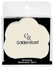 Parfumuri și produse cosmetice Set burete de machiaj - Golden Rose Wedge Sponge Set