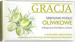 Parfumuri și produse cosmetice Мыло туалетное с экстрактом маслин - Miraculum Gracja Olive Cream Soap