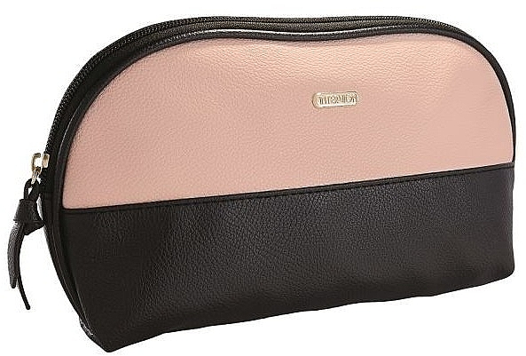 Trusă cosmetică, 414347, negru-roz pudrat - Inter-Vion