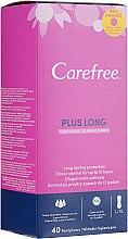 Parfumuri și produse cosmetice Absorbante pentru fiecare zi, 40 bucăți - Carefree Plus Long