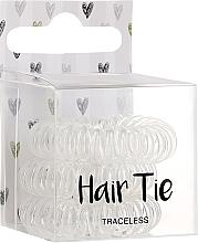 Parfumuri și produse cosmetice Elastice de păr, transparente - Cosmetic 2K Hair Tie Clear