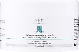 Parfumuri și produse cosmetice Peeling pentru picioare - Apis Professional Api-Podo