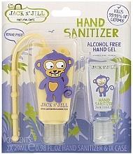 "Parfumuri și produse cosmetice Set-sanitizer ""Monkey"" - Jack N' Jill Hand Sanitizer (Monkey)"