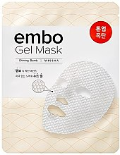 Parfumuri și produse cosmetice Masca hrănitoare de față - Missha Embo Gel Mask Nourishing-Bomb