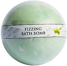 """Parfumuri și produse cosmetice Bombă de baie """"Măslin"""" - Kanu Nature Fizzing Bath Bomb Olive Tree"""