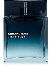 Parfumuri și produse cosmetice Armand Basi Night Blue - Apă de toaletă
