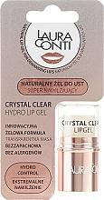 Parfumuri și produse cosmetice Gel de buze - Laura Conti Crystal Clear Hydro Lip Gel