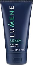 Parfumuri și produse cosmetice Soluție pentru a îmbunătăți culoarea unghiilor - Lumene Men Suoja Sensitive Face Wash