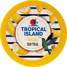 """Parfumuri și produse cosmetice Mască de păr """"Banană"""" - Marion Tropical Island Banana Hair Mask"""