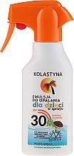 Parfumuri și produse cosmetice Emulsie de corp pentru copii - Kolastyna Suncare for Kids Spray SPF 30