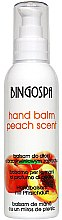 Parfumuri și produse cosmetice Бальзам персиковый для рук - BingoSpa