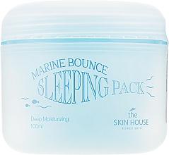 Parfumuri și produse cosmetice Mască de noapte cu colagen marin - The Skin House Marine Bounce Sleeping Pack