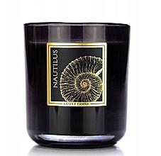Parfumuri și produse cosmetice Lumânare aromatică în pahar - Kringle Candle Nautilus Black Jar Candle