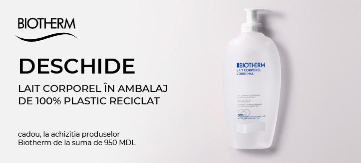 Primești cadou un concentrat, la achiziția produselor Biotherm de la suma de 950 MDL