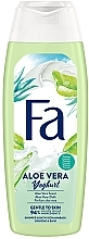 """Parfumuri și produse cosmetice Gel de duș """"Yoghurt. Aloe vera"""" - Fa"""