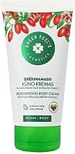 Parfumuri și produse cosmetice Cremă hidratantă cu extract de fructe de pădure goji pentru corp - Green Feel's Body Cream With Natural Goji Berry Extract