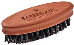 Parfumuri și produse cosmetice Perie pentru barbă, ovală - Barberians. Beard Brush Oval