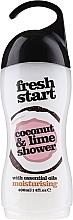 Parfumuri și produse cosmetice Gel de duș - Xpel Marketing Ltd Fresh Start Coconut & Lime Shower Gel