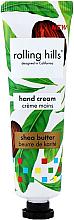 """Parfumuri și produse cosmetice Cremă de mâini """"Unt de shea"""" - Rolling Hills Shea Butter Hand Cream"""
