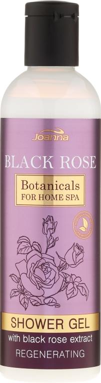 Гель для душа восстанавливающий - Joanna Botanicals Creamy Shower Gel With Black Rose Extract — фото N1