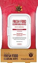 """Parfumuri și produse cosmetice Șervețele pentru față """"Rodie"""" - Superfood For Skin Fresh Food Facial Cleansing Wipes"""