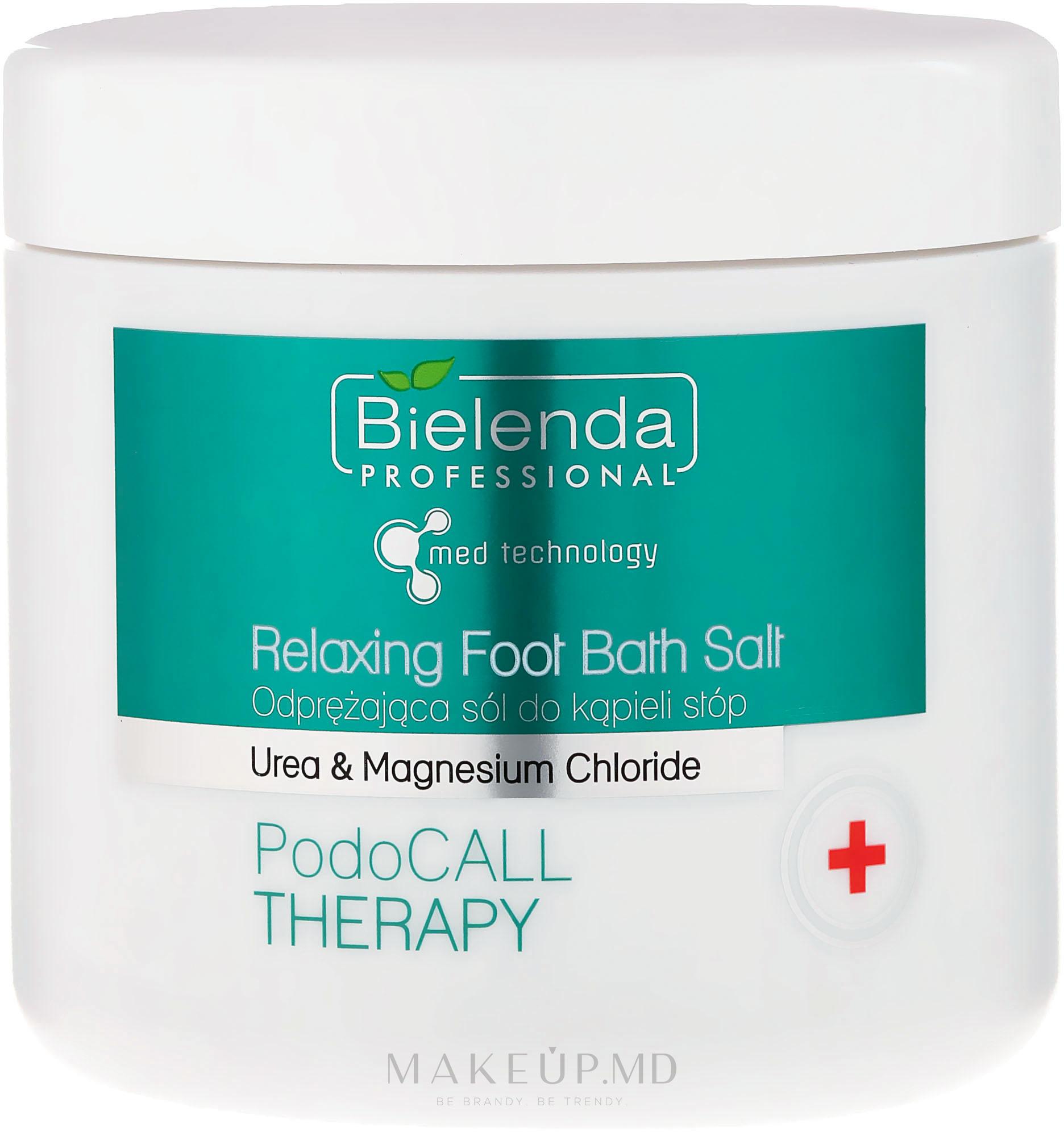 Sare de baie pentru picioare - Bielenda PodoCall Therapy Relaxing Foot Bath Salt — Imagine 500 g