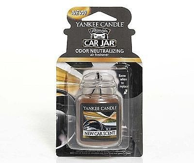 Aromatizator auto - Yankee Candle New Car Scent Jar Ultimate — Imagine N1