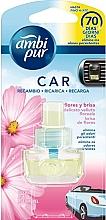 """Parfumuri și produse cosmetice Rezervă aromatizator auto """"Evadare proaspătă"""" - Ambi Pur Air Freshener Refill Fresh Escapes"""