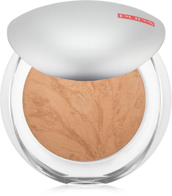 Pudră pentru față compactă coaptă - Pupa Luminys Silky Baked Face Powder