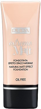 Fond de ten - Pupa Extreme Matt Effect Foundation SPF 10 — Imagine N1