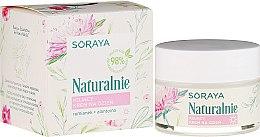 Parfumuri și produse cosmetice Cremă calmantă pentru față - Soraya Naturalnie Day Cream