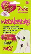 "Духи, Парфюмерия, косметика Patch-uri ""Easy Wednesday""cu alantoină și extract de iasomie - 7 Days Hydrogel Eye Patches"