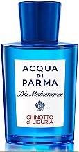 Parfumuri și produse cosmetice Acqua di Parma Blu Mediterraneo Chinotto di Liguria - Apă de toaletă (tester fără capac)