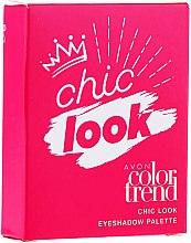 Parfumuri și produse cosmetice Paletă farduri de ochi - Avon Color Trend Chic Look Eyeshadow Palette