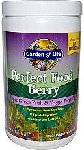 Parfumuri și produse cosmetice Supliment de fructe de pădure, cu formulă de fructe și legume - Garden of Life Perfect Food Berry