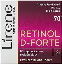 Parfumuri și produse cosmetice Cremă-lifting pentru față - Lirene Retinol D-Forte Face Cream 70+