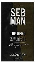 Parfumuri și produse cosmetice Gel universal de styling - Sebastian Professional Seb Man The Hero (mini)