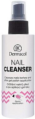 Soluție pentru curățarea unghiilor înainte de aplicarea gel-lacului - Dermacol Nail Cleanser — Imagine N1